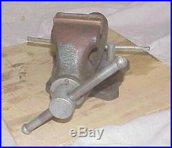 Wilton 300 Bullet Vise with Swivel Base & 3 Copper Jaws USA Vice