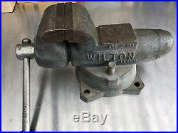 Wilton 350 Machinist 3.5 Bullet Vise With Swivel Base