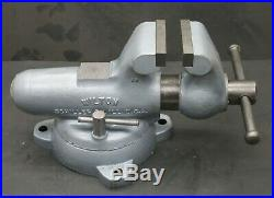 Wilton 400S Bullet Vise with Swivel Base & Brand NEW 4 Serrated Jaws Vice