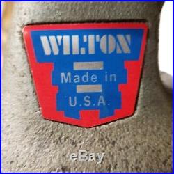 Wilton 400 Bullet Swivel Base Vise Machinist 4 Jaws. USA Bench Vise 101157