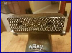 Wilton 450 Machinist Bullet Vise & swivel base 4.5 jaw, 7.5 cap, 4 throat
