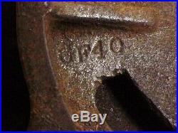 Wilton 4-1/2 Bullet Swivel Base Vise 38 lbs 3.6 oz VTG Antique No Date or Model