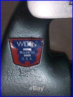 Wilton 4 1/2 Bullet Vise, Swivel Base, Excellent Condition Machinist Model