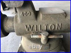 Wilton 4 Bullet Vise 400s / Wilton 4 Machinist's Swivel Base Vise