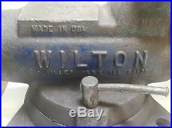 Wilton 4 Bullet Vise With Swivel Base #101168 Read