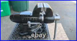 Wilton 4 Machinist Bullet Vise With Swivel Base 1 Owner 10/75 Date Code Near Mint