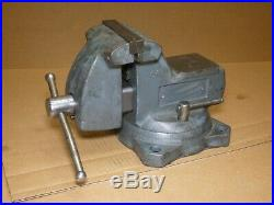 Wilton 5A Mechanics Vise Bench Vise 5 Swivel Base with Pipe Jaws