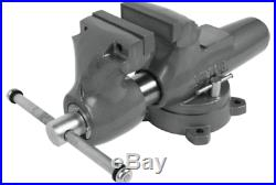Wilton 600S Machinist 6 Jaw Round Channel Vise with Swivel Base 28833