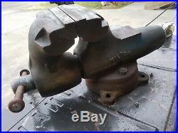 Wilton 600 vise Withswivel Base
