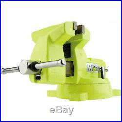 Wilton 63187 5 High-Visibility Safety Vise with Swivel Base New
