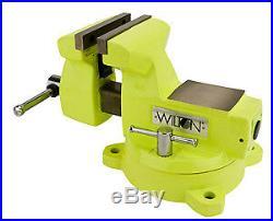 Wilton 63187 High-Viz 5 Bench & Pipe Swivel Base Vise