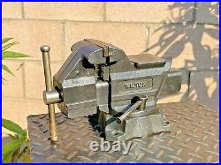 Wilton 643 1/2 Bench Vise 3 1/2''jaws, With Swivel Base & Pipe Grip Made In USA