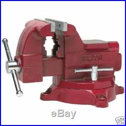 Wilton 676 Utility Workshop Vise 6-1/2 Jaw with Swivel Base
