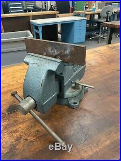 Wilton 6 Benchtop Mechanic's Vise with Swivel Base (6 Opening, 5 Jaw Width)