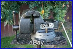 Wilton 745 Mechanic's Vise, 5'' Jaw, With Swivel Base & Pipe Grips, 48 Lb Vice