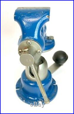 Wilton 820 2 Baby Bullet Machinist's Vise withPowr Arm Junior Base Very Nice 1962