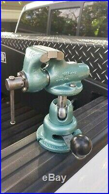 Wilton 820 2 Baby Bullet Machinist's Vise withPowr Arm Junior Base power arm