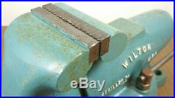 Wilton 835 3.5 Jaw Bullet Vise Swivel Base Date Code 12/67 Machinist Bench 9350