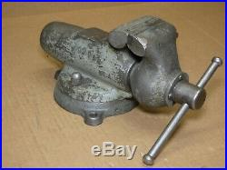 Wilton 930 Baby Bullet Vise 3 Jaws With Swivel Base Machinist Bench Vise