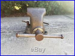 Wilton 9450 Bullet Vise 4-1/2 Jaw Locking Swivel Base 1-73