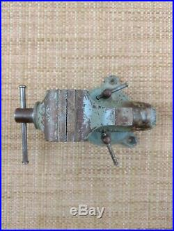 Wilton Baby Bullet 820 Chicago Vise Bench Vice 2 Jaw Swivel Base 1960