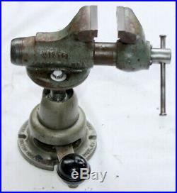 Wilton Baby Bullet 820 Vise With Powrarm Junior swivel articulating base NICE