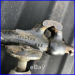 Wilton Baby Bullet 820 Vise With Powrarm Junior swivel articulating base Tight