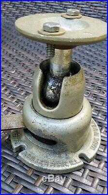 Wilton Baby Bullet Vise 820 With Powerarm & Swivel Base. Complete & Original