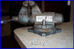 Wilton Bench Vise, 1745, 4-1/2 Jaw, USA Made, Swivel Base