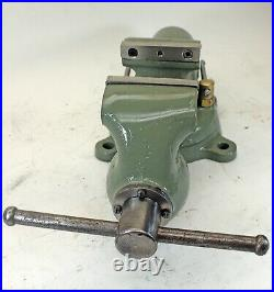 Wilton Bullet Bench Vise #835 3-1/2 Jaws with Swivel Base Chicago 10/46 mfg Vice