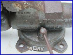Wilton Bullet Vise 2 3/4 8300N & 9800 Machinist Swivel Base weighs 27 lbs
