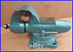 Wilton Bullet Vise 4 1/2 Swivel Base 450S Machinist Bench Vice