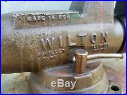 Wilton Bullet Vise 5 Jaw Locking Swivel Base