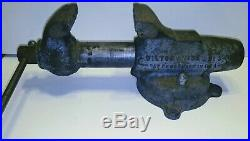 Wilton Bullet Vise No. 3 Chicago Pat. Pend. With Swivel Base 3 Jaws