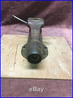 Wilton Bullet Vise No. 3 Non Swivel Base No Date Unrestored