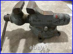 Wilton Bullet Vise No. 3 Original Paint 3 Jaws Swivel Base