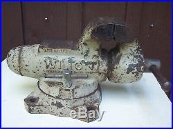 Wilton Bullet Vise Swivel Base 4 Jaws 58 Lbs 1985
