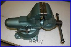 Wilton Bullet Vise Swivel Base Machinist Combo Schiller Pakr