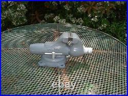 Wilton Bullet Vise Vintage 9300 Vise 3 Jaw 25lb Swivel Base Bench Vise