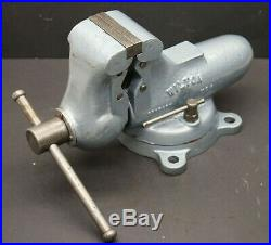 Wilton C0 Vise with Swivel Base & 3-1/2 Smooth Jaws & Pipe Jaws