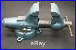 Wilton C1 Vise with Swivel Base & 4-1/2 Jaws & Pipe Jaws