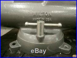 Wilton C3 6 In Jaw W 10 In Max Opening Swivel Base Heavy Duty Combination Vise