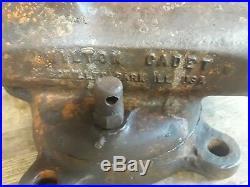 Wilton Cadet 9140 Bench Vise Swivel Base 4 Jaws, 5 Opening
