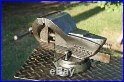 Wilton Chicago Shop King 5jaw Bench Vise With Swivel Base, 31 Lbs Vice