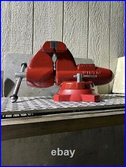 Wilton Combination C1 Bench Vise With Swivel Base And Pipe Jaw Made In USA