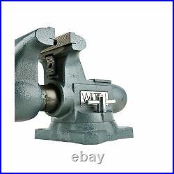 Wilton Corded Electric Vise Opening Tradesman Swivel Base Power Hand Iron Tool