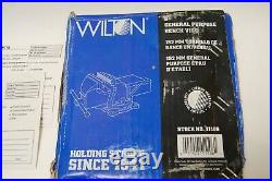 Wilton General Purpose Bench Vise 6 in. With Swivel Base, Model 11106, Brand New