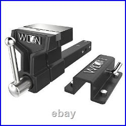Wilton Hitch Mounted Vise 10010 6 Inch Jaw ATV All Terrain Steel Base Anvil