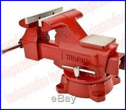 Wilton Large 6-1/2 Swivel Base Bench Vise Anvil Pipe Clamp Spinning Shop Vice