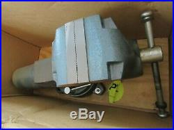 Wilton Machinist 6 Jaw Round Channel Vise with Swivel Base #600S